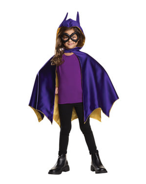 Kit Déguisement Batgirl DC Super Hero Girls fille