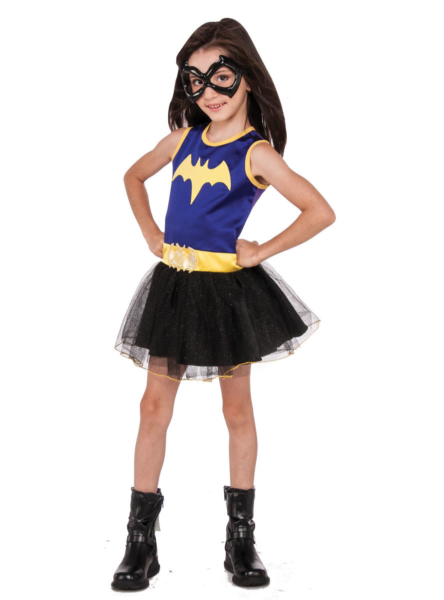 batgirl dc super hero girls purple costume  the coolest
