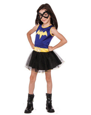 Déguisement Batgirl DC Super Hero Girls violet fille