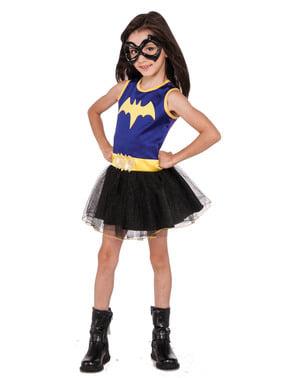 Lilla batgirl DC superhelte kostume til piger