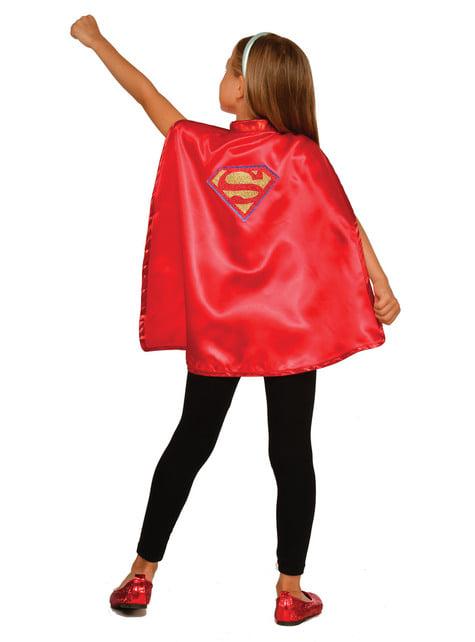 Kit disfraz de Supergirl DC Super Hero Girls para niña