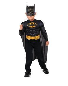 Disfraz de Batman DC Comics musculoso para niño