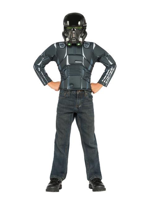Kit disfraz Death Trooper Star Wars para niño