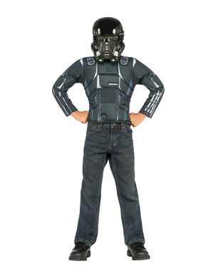 Kit disfraz Death Trooper Star Wars para niño