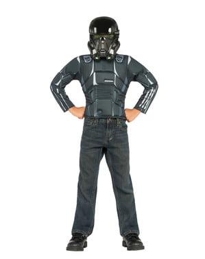 Set Maskeraddräktath Trooper Star Wars för barn