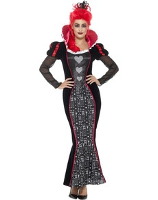 Women's dazzling Queen of Hearts costume