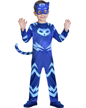 Kattpojken Dräkt - Pyjamashjältarna
