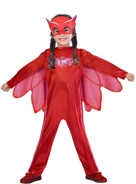 Fato Corujinha PJ Masks Classic para menina