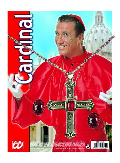 Set Cardenal - para tu disfraz