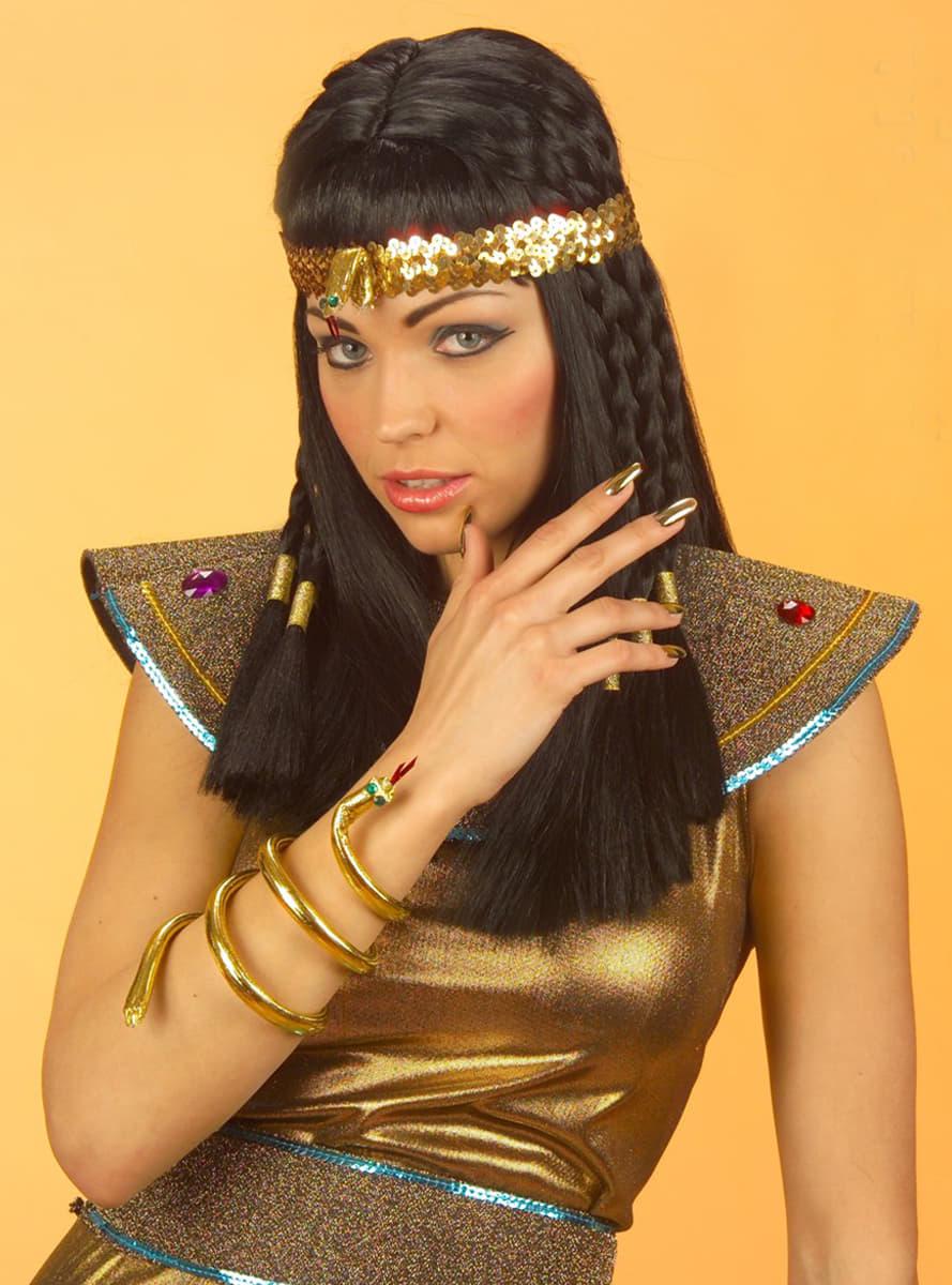 Cinta de serpiente egipcia para la cabeza