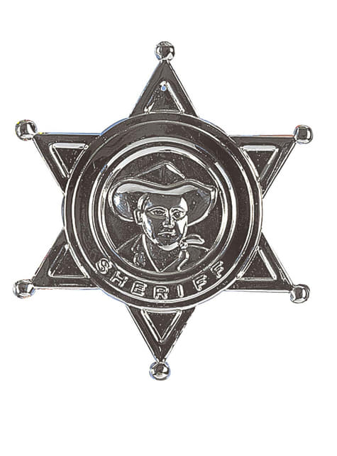 Estrella sheriff - para tu disfraz
