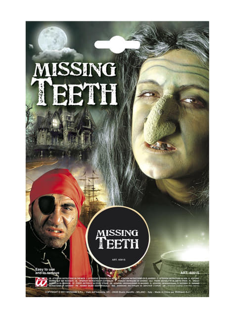 Missing teeth