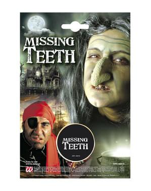 Make-up missende tanden