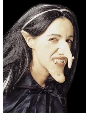 Čarodějnický nos, uši a brada