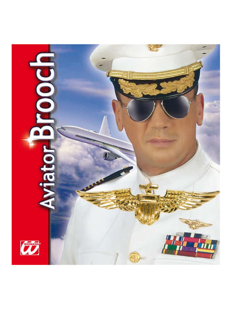 Pilot Brooch
