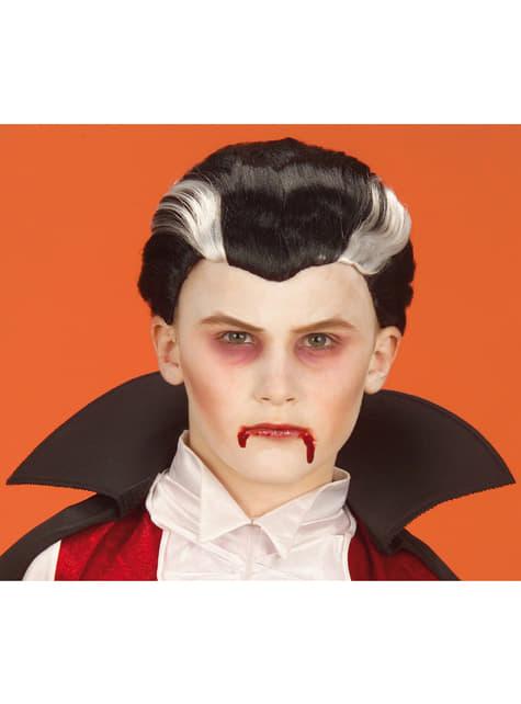 Pruik vampier voor jongens