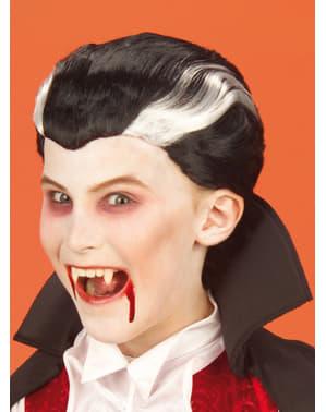 Vampyr Parykk for Gutt