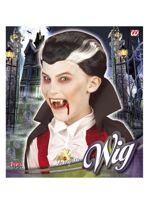 Peruca vampiro menina