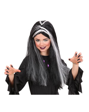 Peluca bruja niña