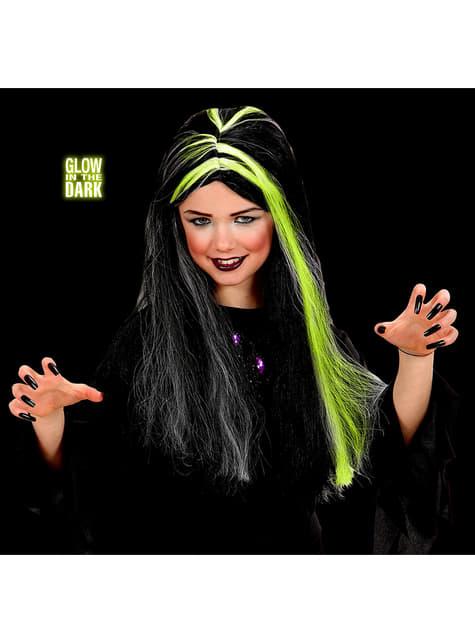 Perruque sorcière enfant