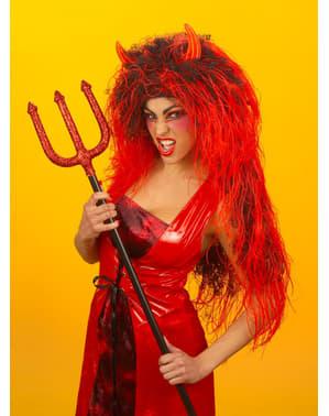 Perucă Diavoliță