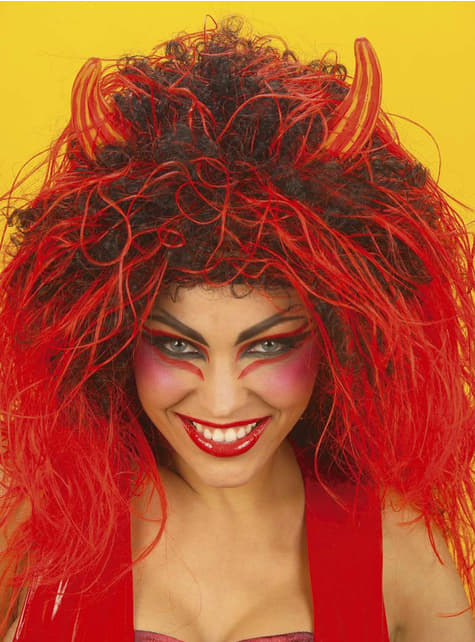 Дамска дяволска перука