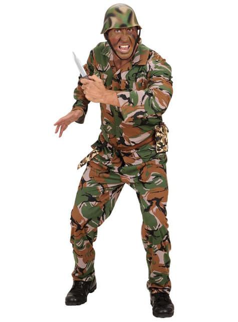 Camouflage dolk