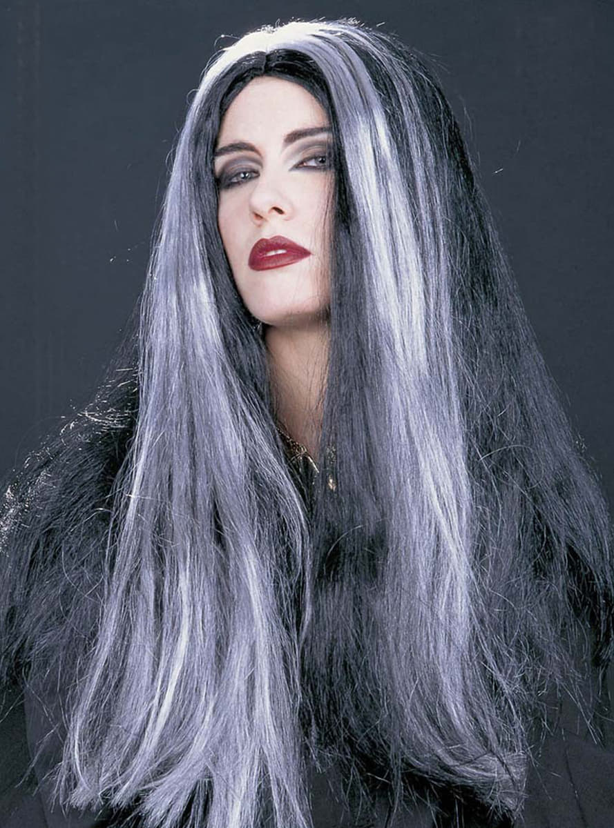 Peluca Morticia Have Fun Funidelia
