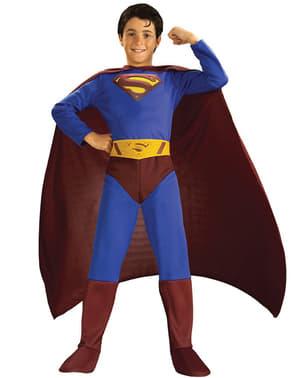 Superman Vender Tilbage kostume til børn