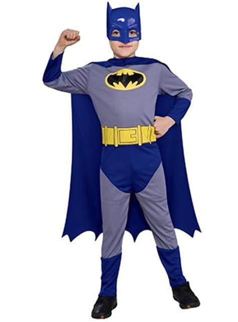 Disfraz de batman niño the Brave and the Bold