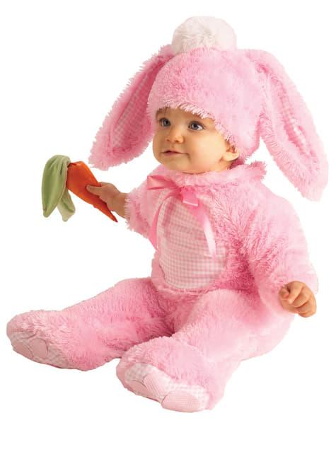 Strój króliczka dla niemowlaka
