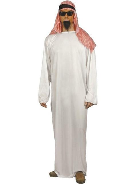 Arabisk Schejk Maskeraddräkt