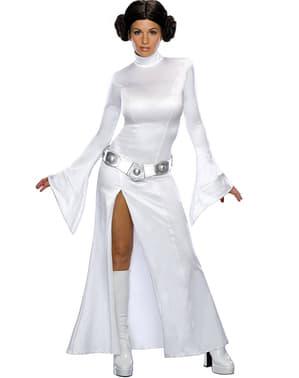 Sexy biely kostým princeznej Lei pre dospelých