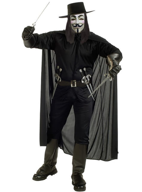 V για κοστούμι ενηλίκων Vendetta