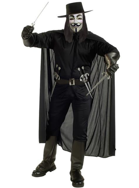 V för Vendetta Maskeraddräkt