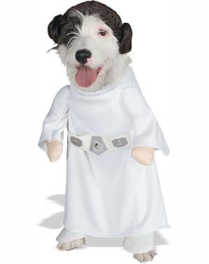 Costum Prințesa Leia pentru cățel