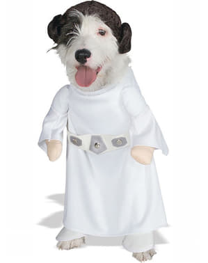 Prinsesse Leia kostume til hunde