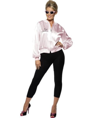 Grey Pink Lady Jacket