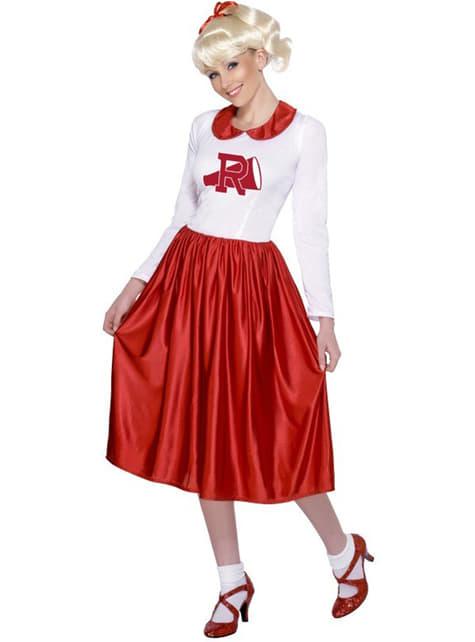 Sandy uit Grease Rydell High-kostuum