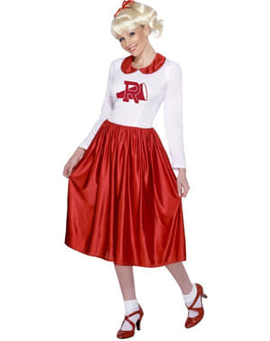 Sandy fra Grease Rydell High Kostume