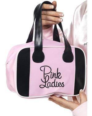 Рожева сумка для боулінгу з Бріолін