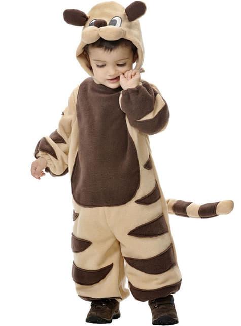 Costum de tigru bebeluș