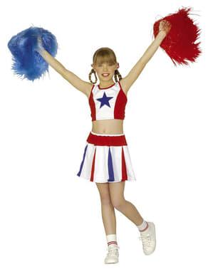 Pon pon cheerleader blu