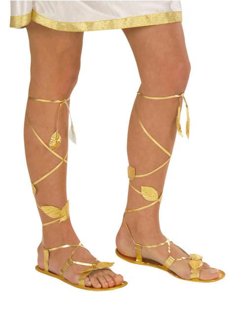 Sandalias Griego - para tu disfraz