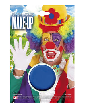 Make up niebieski