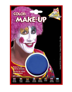 Color makeup blue