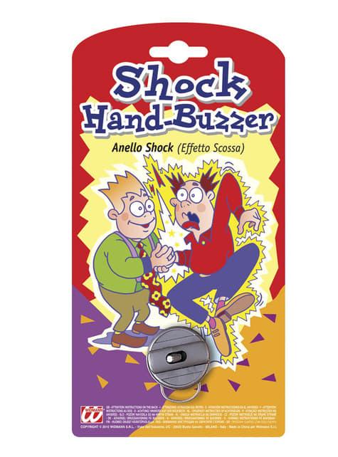 Shock hand-buzzer