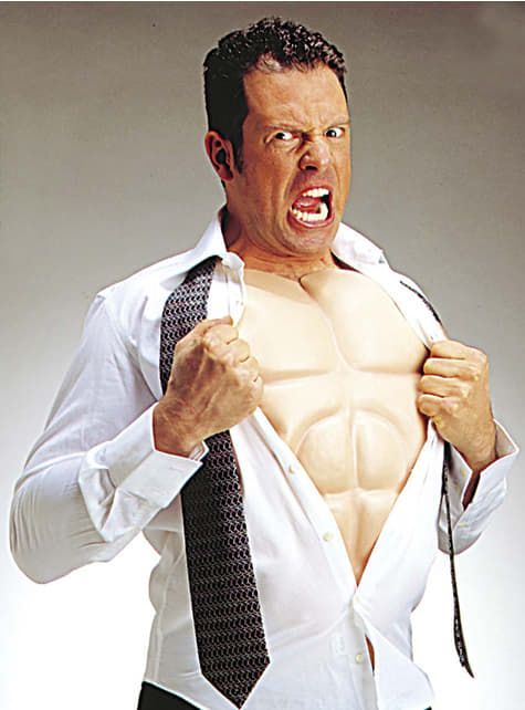 Muskulöser Oberkörper