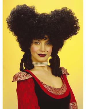 Parrucca nera d'epoca