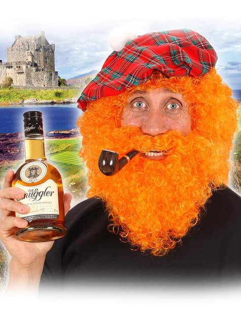 Peluca escocesa - para tu disfraz